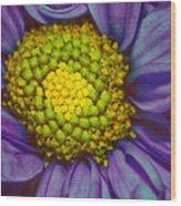 Extreme Flower Wood Print
