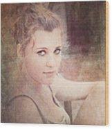 Eye Contact #01 Wood Print
