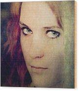Eye Contact #02 Wood Print
