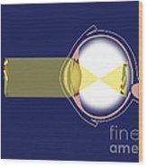 Eye Diagram Wood Print