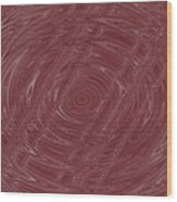 Eye In Vortex Wood Print
