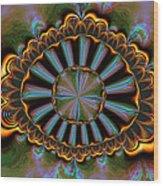 Eye Of Centauris Wood Print by Claude McCoy