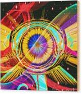 Eye Of Horus Wood Print
