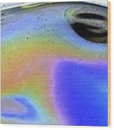 Eye Of The Gas Giant Wood Print