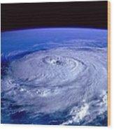 Eye Of The Hurricane Wood Print