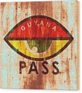 Eye Pass Wood Print