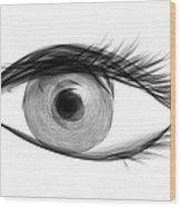 Eye Wood Print