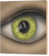 Eyed  Wood Print