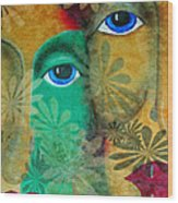 Eyes Of The Beholder Wood Print