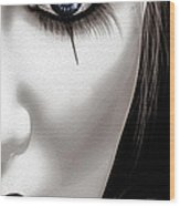 Eyes Of The Fool Wood Print by Bob Orsillo