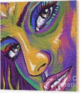 Eyes01 Wood Print