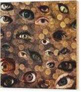 Eyez Wood Print