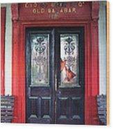 Eyo Bassey Mansion's Entrance Wood Print