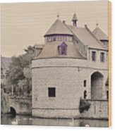Ezelport City Gate In Bruges Wood Print