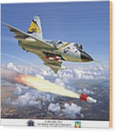 F-106 Delta Dart 5th Fis Wood Print