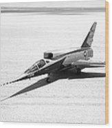F-107a Airplane, Nasa Testing, 1959 Wood Print