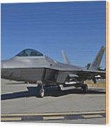 F-22 Raptor 2 Wood Print