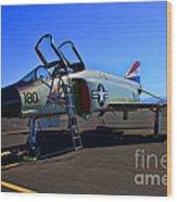 F-4 Phantom II No. 11 Wood Print