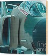 F-4 Phantom II Wood Print