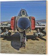 F-4c Phantom II Wood Print