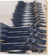 F-4e Phantom II Aircraft Wood Print