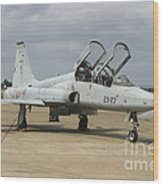 F-5 Tiger II Used As A Lead-in Trainer Wood Print
