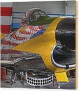 F-86 D Wood Print