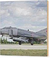 F4e Phantom II  Aircraft Wood Print