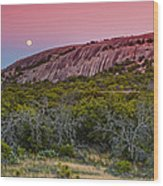 F8 And Be There - Enchanted Rock Texas Hill Country Wood Print