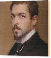 Fabbri Paolo Egisto, Self-portrait Wood Print