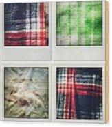 Fabrics Wood Print