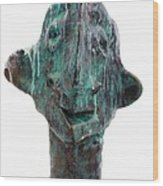 Fabulas Shipwrecked Idol Wood Print