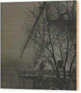 Fabyan Windmill Wood Print