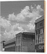 Facade In Missouri  Wood Print