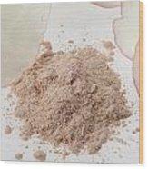 Face Powder Wood Print