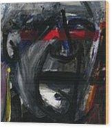Face Xiv Wood Print
