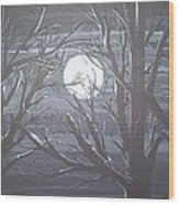 Fade To Black Wood Print