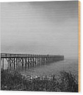 Fading Bridge Wood Print