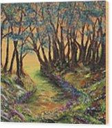 Faerie's Copse Wood Print