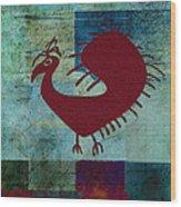Fafa Bird - 01c01bcr Wood Print