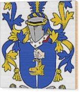 Fahey Coat Of Arms Irish Wood Print