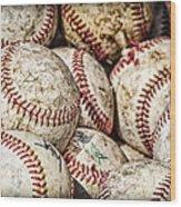 Fair Balls Wood Print
