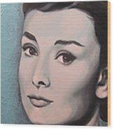 Fair Lady Wood Print
