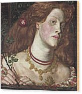 Fair Rosamund  Wood Print
