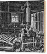 Fairbanks Morse Diesel Wood Print