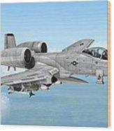 Fairchild A-10 Thunderbolt Wood Print