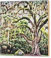 Fairchild Painted Wood Print