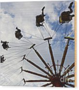 Fairground Fun 3 Wood Print