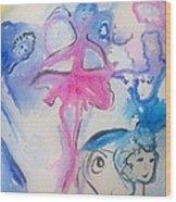 Fairies Wood Print