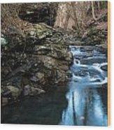 Fairmont Falls Wood Print